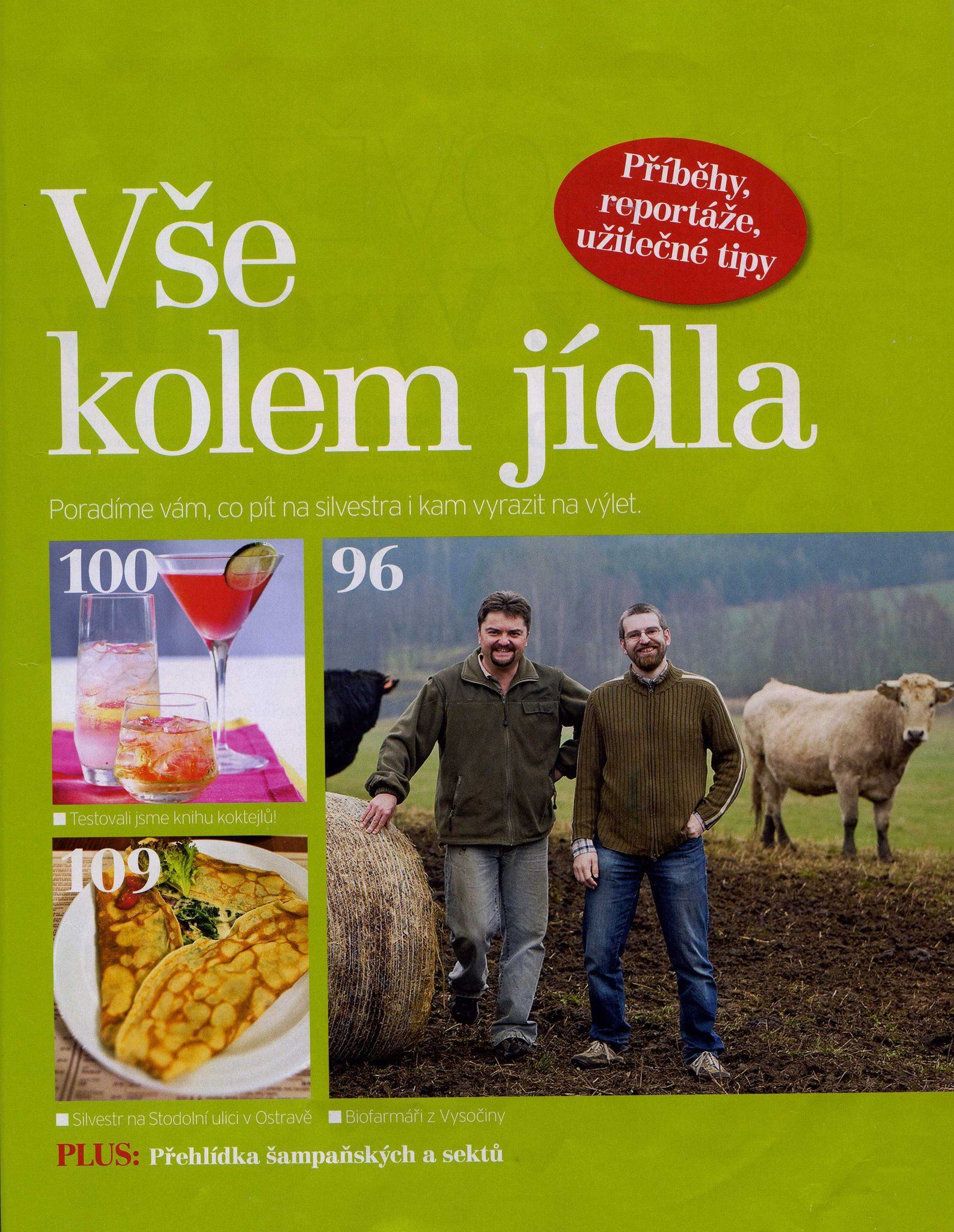 Reportage about our company in a Czech magazine